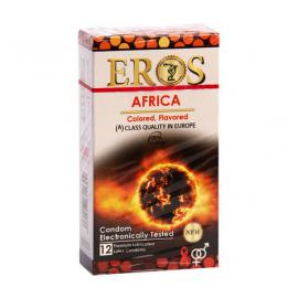کاندوم گرم کننده آفریقا Eros