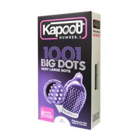 کاندوم خاردار درشت کاپوت مدل Kapoot Big Dots